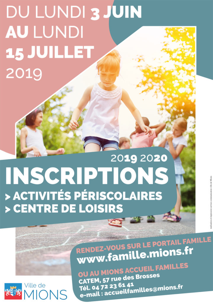 Inscriptions 2019 2020