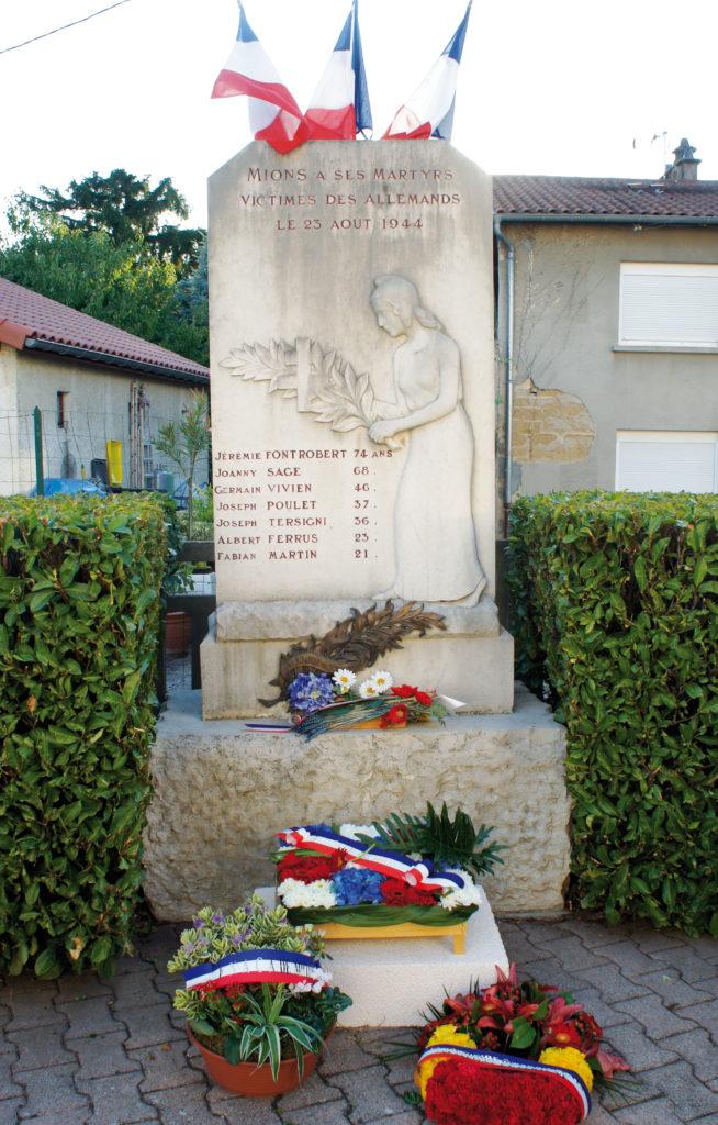 monument 23 aout