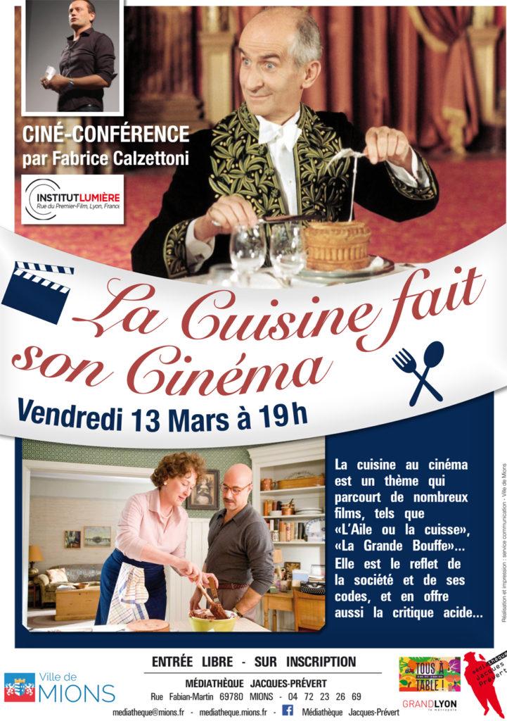cine conference cuisine et cinema